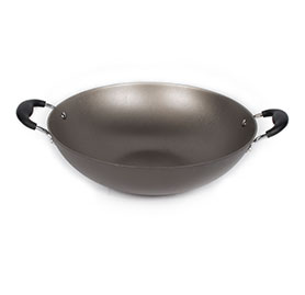 Nonstick Coating Wok With Doubl