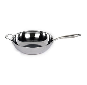 Household Healyhy Uncoated Wok